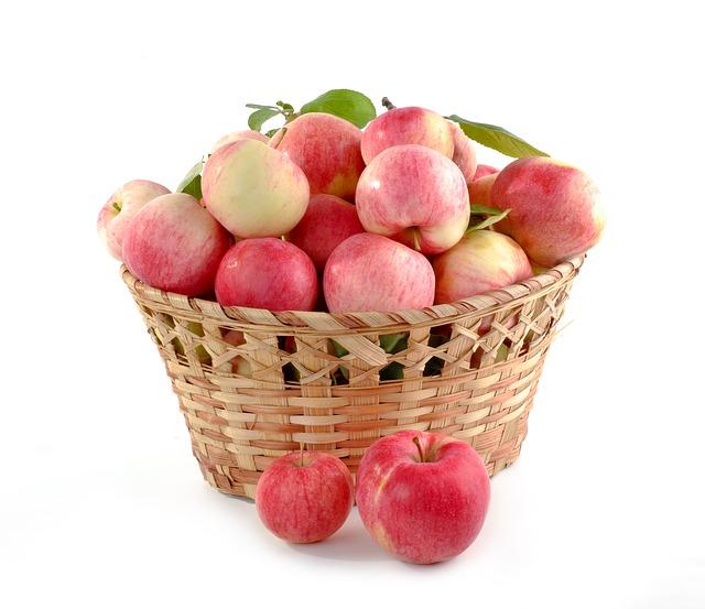 Bezpieczne przechowywanie jabłek